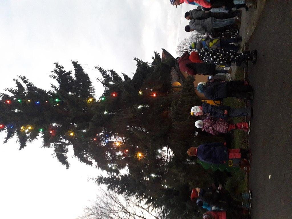 Rozsvícení vánočního stromku 2